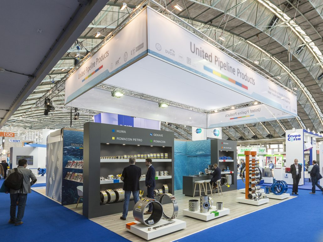 Aquatech amsterdam 2017 united pipeline products b v for Amsterdam products